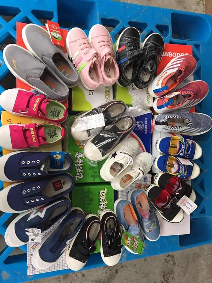 Adult and children's sneakers