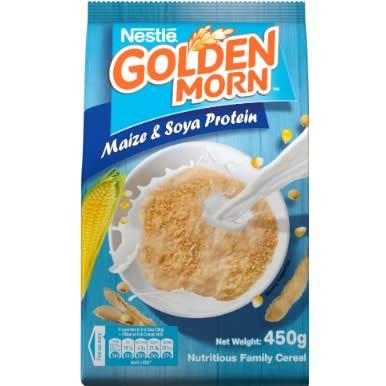 Milo 500g + Peak 400g + Golden Morn 450g