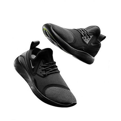 Nike Men's Lunarcharge Running Sneakers – Black