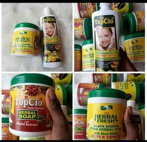 TOPCIO HERBAL SOAP
