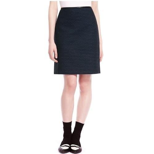 Marks & Spencer Jacquard Ladder Mini Skirt