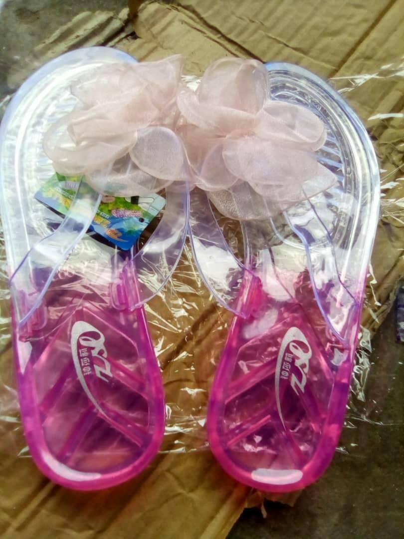 beautiful Jelly Slippers