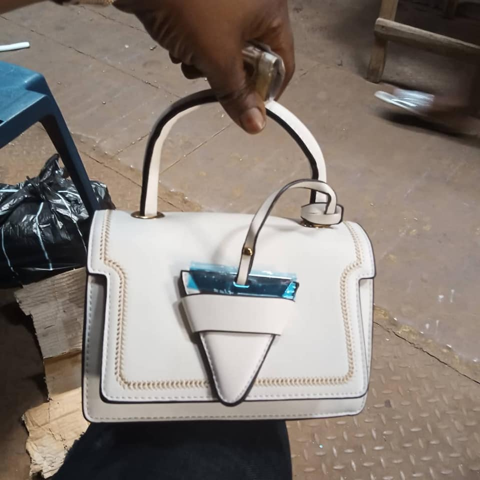 Beautiful portable hand bag