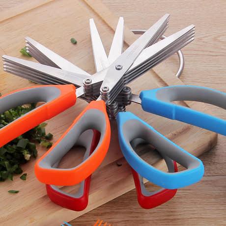 multi layer kitchen scissors