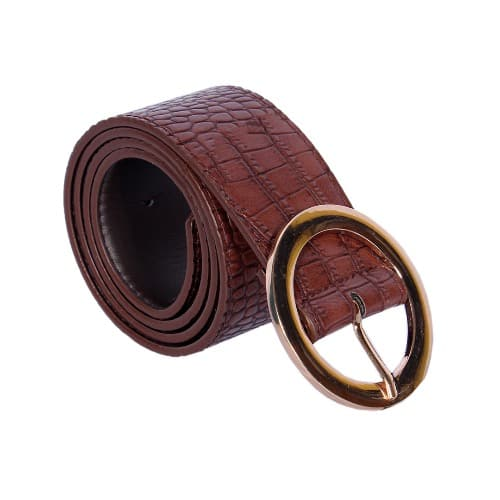 Atmosphere Leather Waist Jeans Belt – Brown