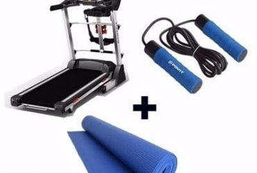 3HP Treadmills + Skipping Rope + Yoga Mat
