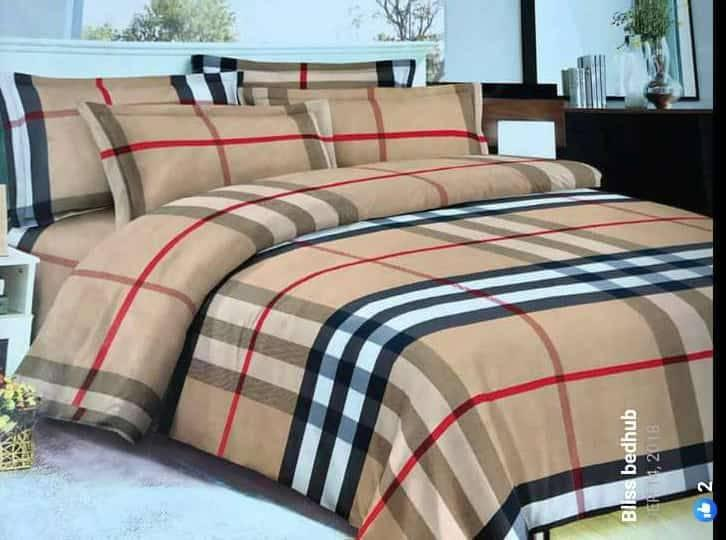 quality pure cotton bedsheets and duvet.