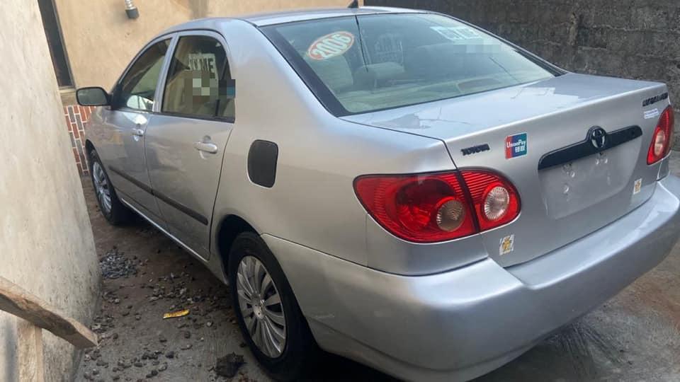 Nigerian Used Toyota  Corolla 2006 Mode