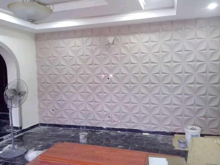 3D wall panel