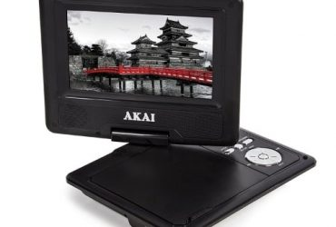 Akai A51004 Portable Dvd Player – 7 Inch – Black