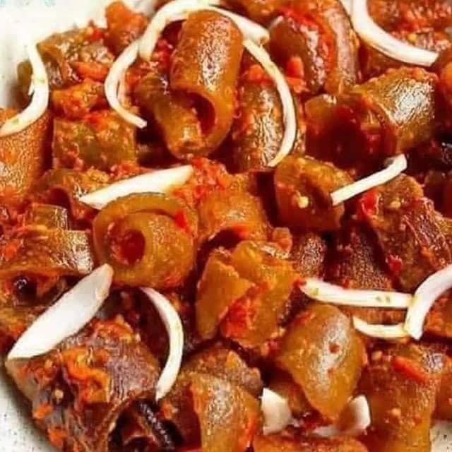 Dried Ponmo