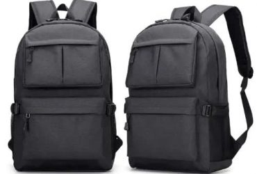 Anti-theft Travel Backpack Usb Charging Laptop Bag – Black