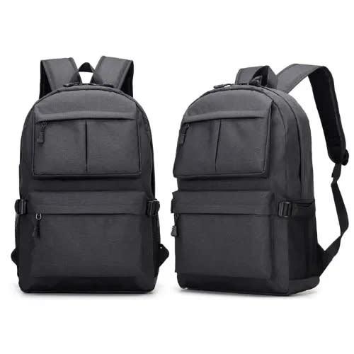 Anti-theft Travel Backpack Usb Charging Laptop Bag – Black