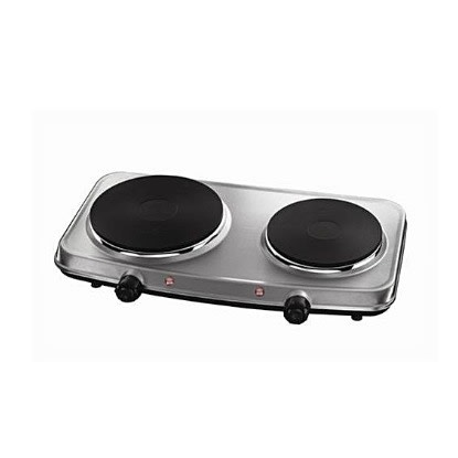 Nakai Electric Cooker Hot Plate Double Burner Stainless