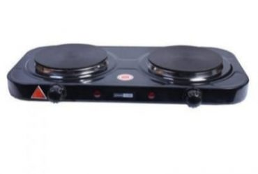 Master Chef Double-Burner Electric Hot Plate