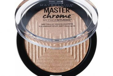 Maybelline Face Studio Master Chrome Metallic Highlighter – Molten Gold – 0.24 oz