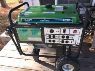 New lifan 5700 generator