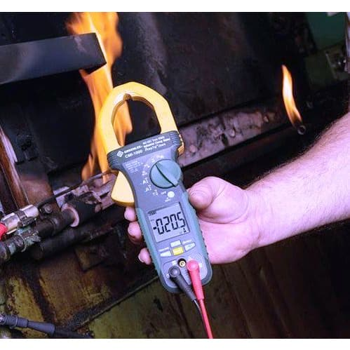 Greenlee CM-1560-C 1000 AMP AC + DC True RMS Clamp Meter – Caliberated With Precision