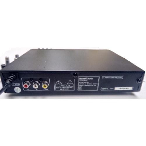 Homeflower Dvd Player + Usb Playback + Cd Ripping + Free Usb Card Reader