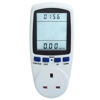 Power Meter – Kilowatt-Hour, Volts, Amps & Watt Monitor