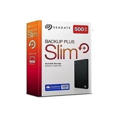 Private: Seagate Backup Plus Slim Portable External USB 3.0 Hard Drive -500GB