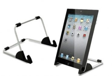 Adjustable Tablet Stand For Home And Office Use- Silver