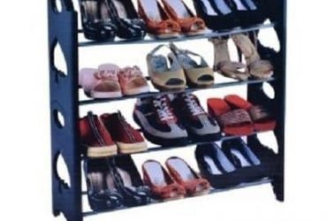 Stackable Shoe Rack -12 Pairs