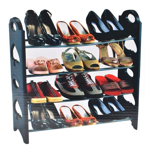 Stackable Shoe Rack -12 Pairs