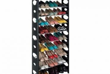 A&S Stackable Shoe Rack – 30 Pairs