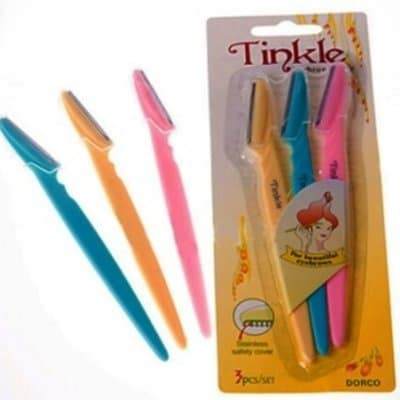 Tinkle Eyebrow Trimmer – 3 Piece Set