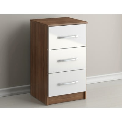 MAXIPRIDECABINETRY Wooden Chest 3-Drawer Storage Cabinet