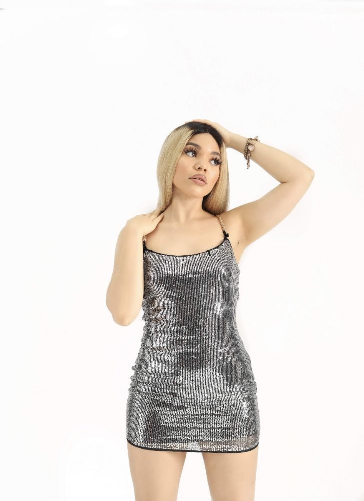 Sequence Detailed Midi Dress