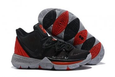 Kyrie 5 Black Red Men's Basketball Irving Sneakers