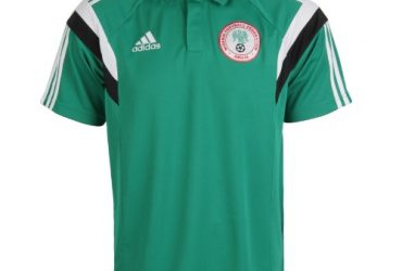 adidas Men's 2014 World Cup Nigeria Lic Polo Performance