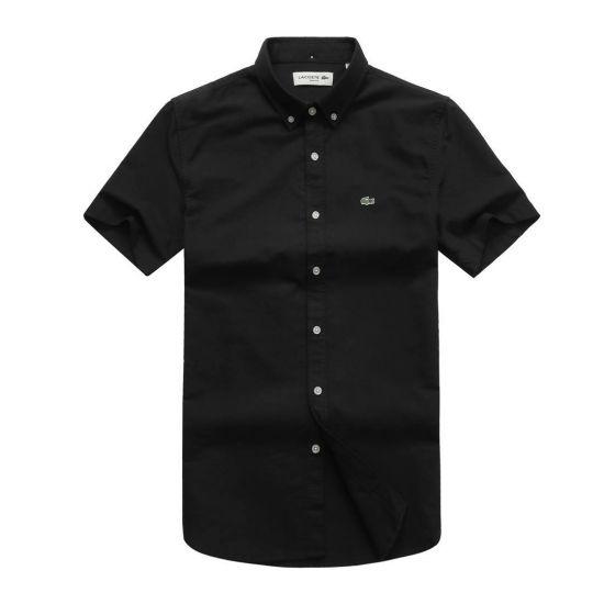 Lacoste Men's Short Sleeve Short -Black