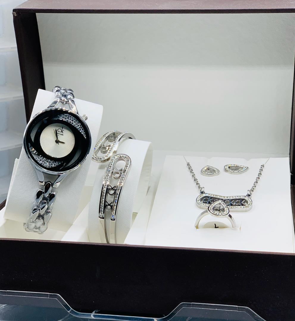 Calvin Klein Female watch and Bangle set