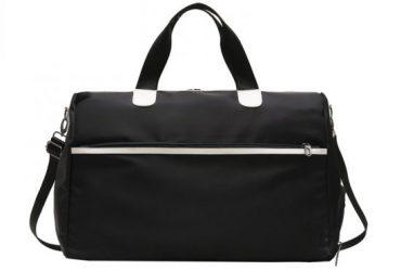 Smart Walk Waterproof Large Capacity Crossbody Black Bags