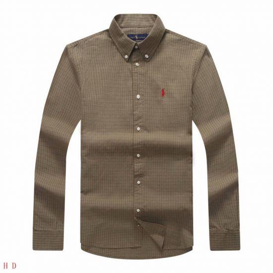 RL Custom Men's Check Longsleeve Green Casual Shirt