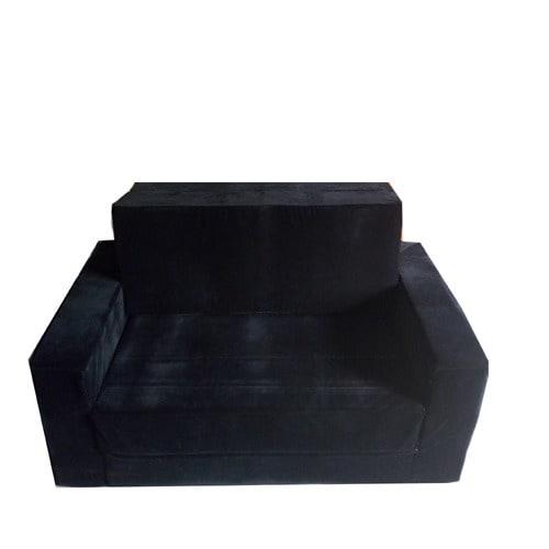 Vitafoam SOFA BED WITH ARM BLACK COLOUR