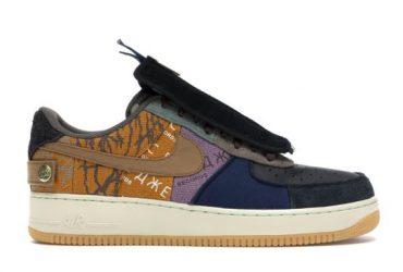 NAF 1 Low Travis Scott Multicolored Sneakers