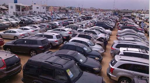 Custom auction cars in Nigeria