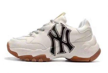 MLB Big Ball Chunky NY Yankees Milk Sneakers