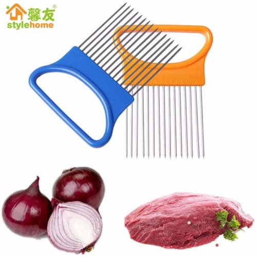 Private: Vegetable, Onion, Meat And Tomato Stainless Steel Cutter, Slicer And Fork