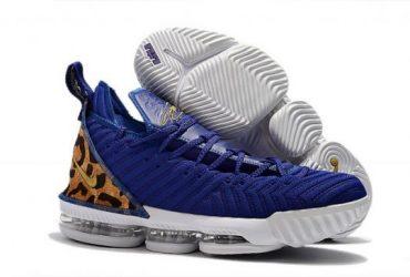 LeBron 16 Champion Royal Blue White Men's Basketball Shoes