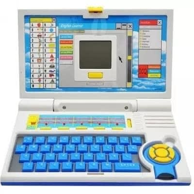 Children English Learner Laptop With 20 Activities For Learn And Play With Mouse Control