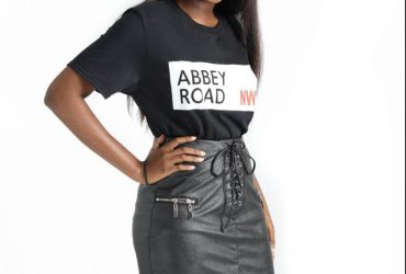 ABBEY ROAD OVERSIZED PRINTED T-SHIRT