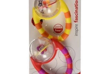 Sassy Flip & Grip Rattle – 2 Pack