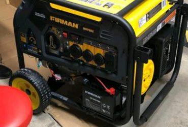 New firman h07552 generator