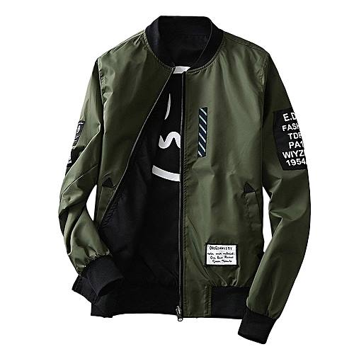 Two way Jacket Army Green/Black