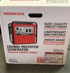 New honda eb2800 generator